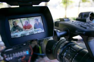 viewfinder shot